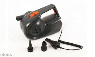 Oztrail Hi-Flow Rechargeable Air Pump For Both 240V And 12V