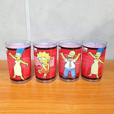 Rare 2006 The Simpsons KFC Plastic Cups