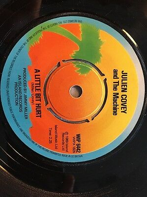"Julian Covey - A Little But Hurt / Sweet Bacon - Island WIP 6442 (7"" Vinyl)"