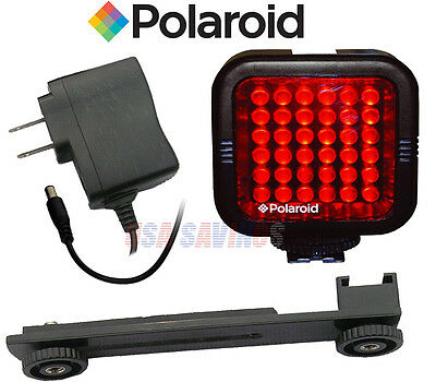 36 LED Light NIGHT VISION and Bracket POLAROID for CANON® Cameras & Camcorders