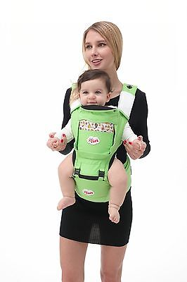 Newborn Durable Ergonomic Baby Carrier Seat wrap backpack front back Light