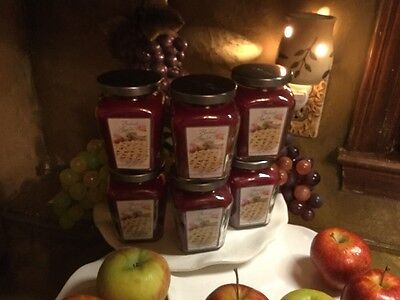 Home Interiors Celebrating Your Home Sale Set Of *** 6 ***   Baked Apple Candles