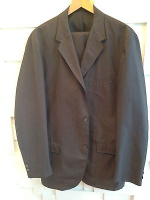 Summer-weight US-made Ivy League Brent Sack Suit Wash'n'Wear Size 42L
