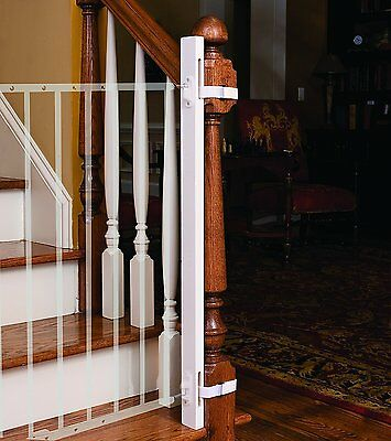 """EZ-Fit: 42"""" Baby Gate Walk Thru Adapter Kit for Stairs + Child and Pet Safety -"""