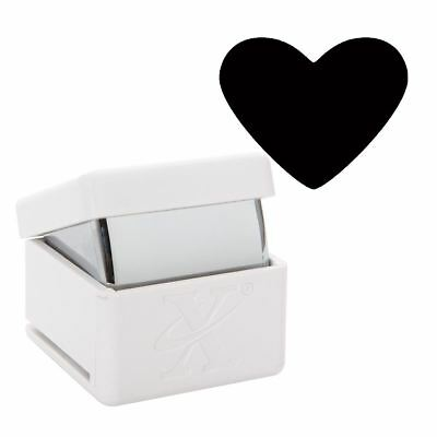 Xcut Handheld Paper Card Shape Cutter Large Palm Punch - Traditional Heart