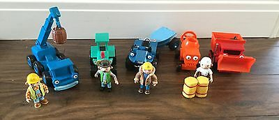 Bob The Builder various friction Toys And Figures Great Condition