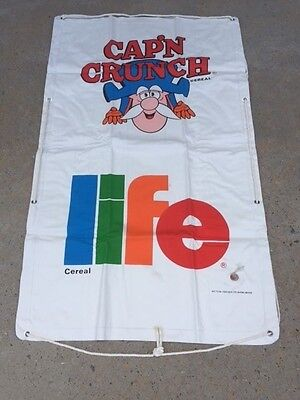 Vintage Cap'n Crunch and Life Cereal Premium Sevylor Raft - 1980's