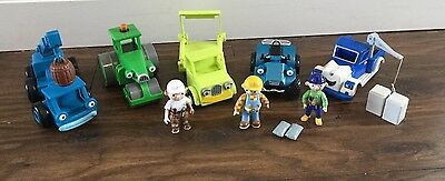 Bob The Builder friction Toys And Figures Great Condition