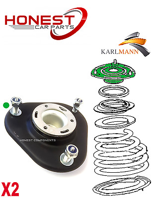 For TOYOTA VERSO 09> FRONT SHOCK ABSORBER TOP STRUT MOUNTINGS + Bolts X2 Karlman