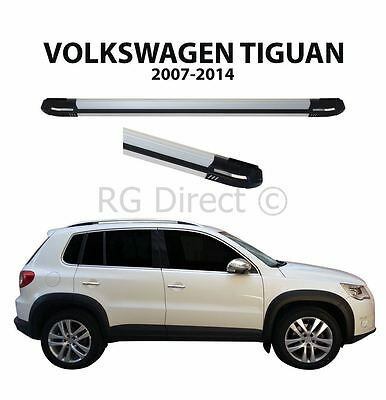 RB Style Running boards Side steps For Vw Tiguan 2007-2014