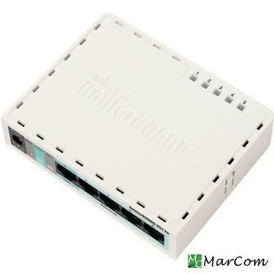 Routerboard RB260gsp MIKROTIK  firewall nat routing passive poe max 1a su port