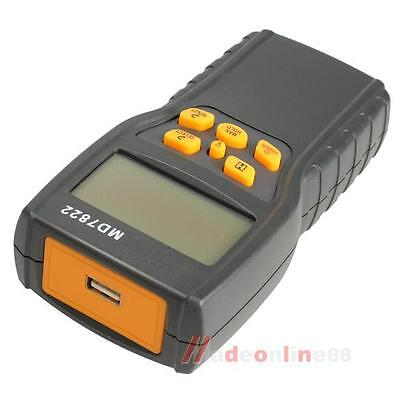 LCD Digital Grain Damp Moisture Temperature Meter Tester Measure Probe Detector
