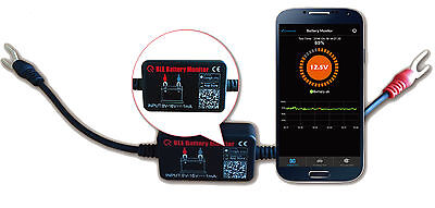 BM2 12V Car Battery Monitor Tester Bluetooth 4.0 for iOS & Android
