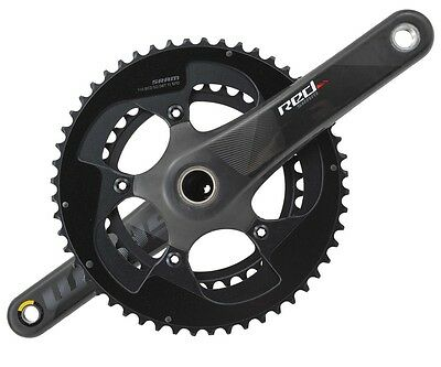 SRAM Red GXP Carbon Crankset 2x11 Speed 175mm 52/36T Mid Compact - ETap Graphics