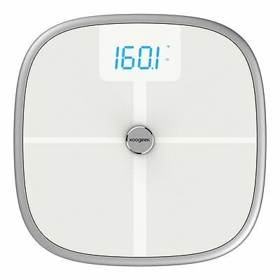 Koogeek Bluetooth Wifi Smart Scale,8 Body Statistics Measurement, 16 Users Baby