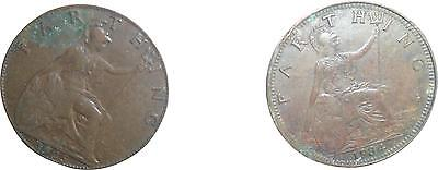 USED Georgivs Farthings 1925 Coin (D.T)