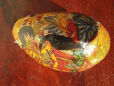 Unresearched Ornamental Hand Painted Egg . Un