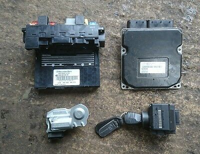 Mercedes C Class W203 C200 Kompressor Engine Ecu Kit 2095450508 / A2711535679