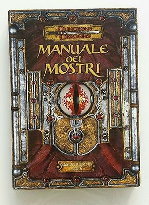 ⚝ Buono  Ita ⚝ Manuale Dei Mostri ⚝ D&d Dungeons And & Dragons 3.5 Base ⚝