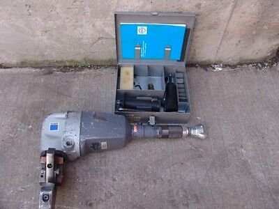 Trumpf Tkf P 101 Pneaumatic Bevelling  Beveller With Set Of Dies     Great Shape
