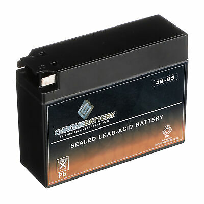 YT4B-BS High Performance - Rechargeable - Sealed AGM Motorcycle Battery