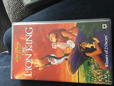 Walt Disney Classics The Lion King VHS