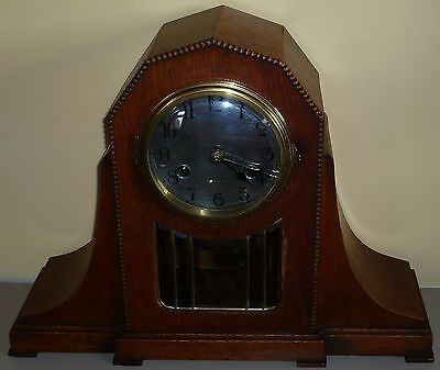 Rare Art Deco  KIENZLE Chiming Mantel Clock, Very nice condition. Nov. 1920