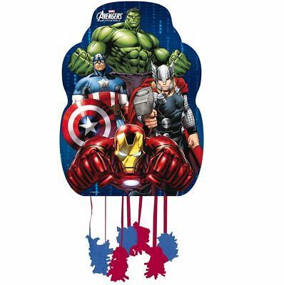 45cm Marvel Avengers Pull String Pinata Kids Birthday Party Goody Filler Toy