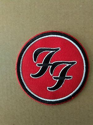 Foo Fighters Round  Sew On Or Iron On Patch