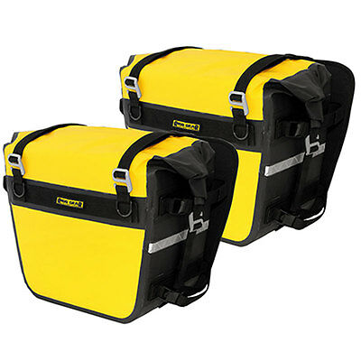 Nelson Rigg Deluxe Adventure Dry Saddlebags Waterproof SE-3050-Yellow/Black