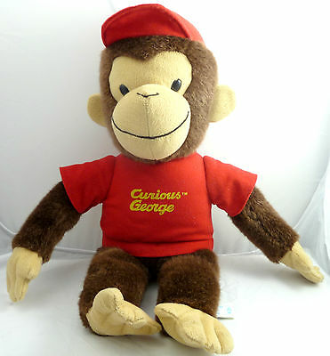 "Curious George Doll Plush Collectible Soft Toy  Size: 18 "" Tall"