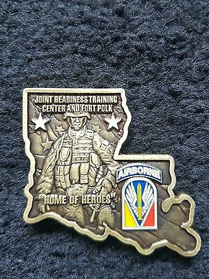 Joint Readiness Training Center fort polk coin