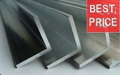 Aluminium Extruded Angle Various Sizes  1meter long! BEST PRICE ON EBAY