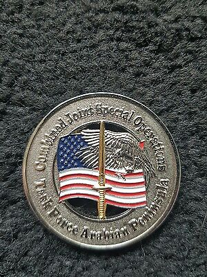 Combined joint special operations task force arabian peninsula coin
