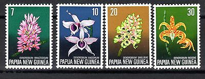 PAPUA NEW GUINEA STAMPS- Flora conservation, set, 1974 (*)