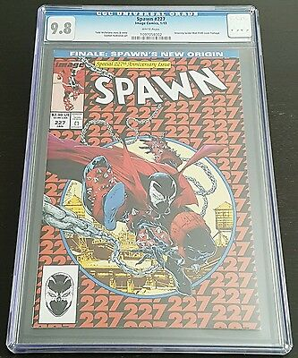 Spawn #227 Cgc 9.8 White Pages *amazing Spider-Man 300 Cover Swipe*