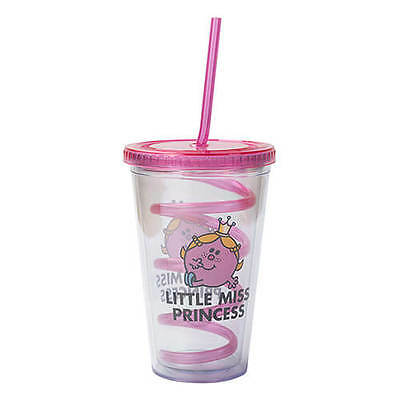 Mr Men Little Miss Princess Cup With Straw