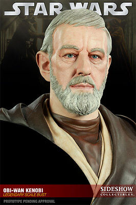 Sideshow Star Wars Obi-Wan Kenobi Legendary Bust Figure Statue Limited Edition