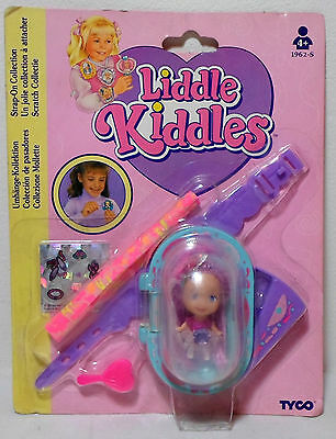 Tyco 1994 Liddle Kiddles Strap On Collection Bobbie Ballet Doll European Sealed