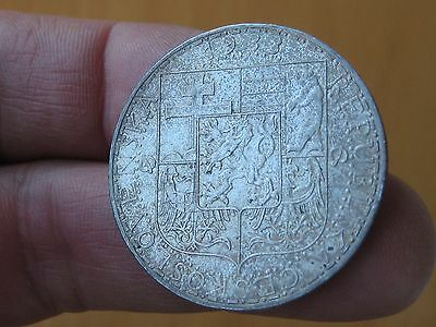 Czechoslovakia Lot of 2 coins with Silver - Scarce Coins!