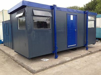 21ft by 9ft portocabin - clean great condition waterproof secure open plan