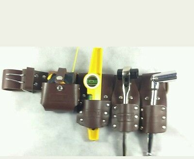 Brown Scaffolding Leather Tool belt set For Scaffold  (Thick Leather Belt)