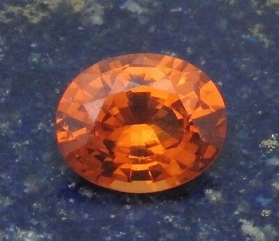 2.86 cts - Bright Mandarin (Spessartite) Garnet With Video!