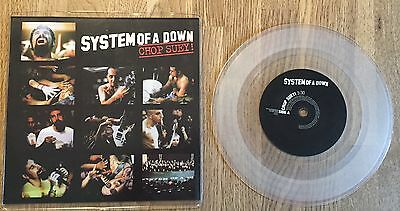 """SYSTEM OF A DOWN - Chop Suey 7"""" LIMITED clear Vinyl UK"""