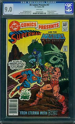 DC Comics Presents 47 CGC 9.0 - White Pages