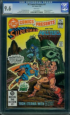 DC Comics Presents 47 CGC 9.6 - White Pages