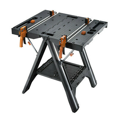 Worx WX051 Pegasus Foldable Multi-Function Work Table and Sawhorse New