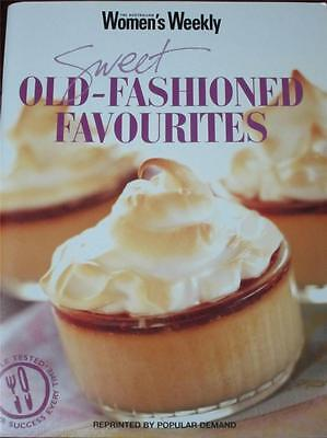 Aust Womens Weekly Cookbook Sweet Old Fashioned Favourites Recipes Free Post