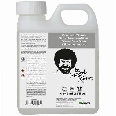 Bob Ross Odourless Thinner 125ml, 946ml, 5000ml - Choose Size
