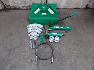 GREENLEE 880 1/2 to 2 INCH HYDRAULIC BENDER WITH PUMP GREAT SHAPE